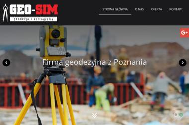 GEO-SIM Bartosz Grzesiak - Ewidencja Gruntów Poznań