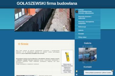 GOŁASZEWSKI firma budowlana - Tarasy Gdynia