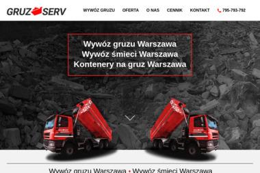 GRUZ SERV - Gruz Budowlany Warszawa