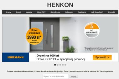 Henkon - Drzwi Garażowe Szczecin