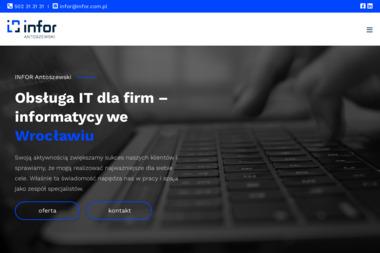 Infor - Naprawa komputerów Wrocław