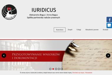 IURIDICUS Aleksandra Bogus i Anna Bogus Spółka partnerska radców prawnych - Radca prawny Katowice