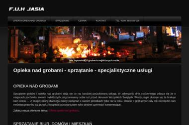 """FUH """"JASIA"""" Janina Janas - Ogrodnik Jedlicze"""