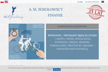 A.M. Jesiołowscy - Finanse Sp. z o.o. - Doradcy Podatkowi Online Kraków