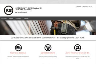 K3 Materiały Budowlane i Instalacyjne - Stolarka Aluminiowa Giżycko
