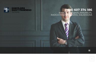 KANCELARIA RADCY PRAWNEGO PAWEŁ KAŁAMAJKA - Radca prawny Głogów