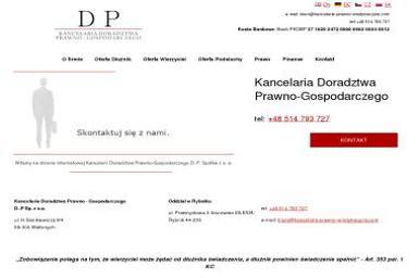 Kancelaria Doradztwa Prawno - Gospodarczego D.P. Spółka z o.o. - Windykacja Rybnik