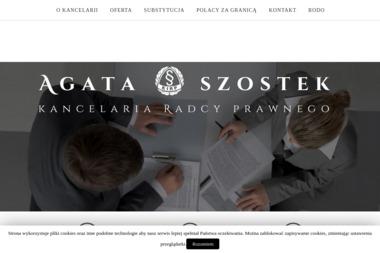 Radca Prawny Agata Szostek - Radca prawny Sosnowiec