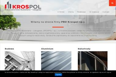 """""""KROSPOL"""" sp. j. - Układanie Płytek Krosno"""