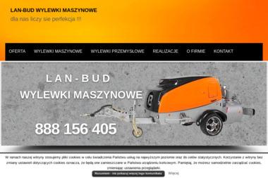 LAN-BUD - Posadzki przemysłowe Lubsza