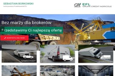 Sebastian Borkowski Autoryzowany Przedstawiciel EFL - Leasing Auta Sosnowiec