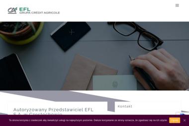 Autoryzowane Przedstawicielstwo EFL S.A. - Leasing Samochodów Dostawczych Częstochowa