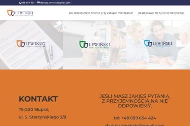 Lewiński Finanse - Kredyt dla firm Słupsk