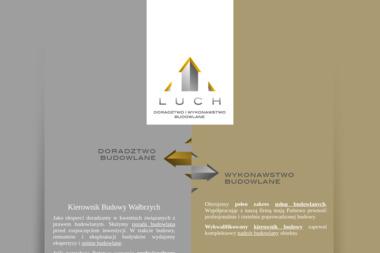 LUCH – Doradztwo i Wykonawstwo Budowlane - Kierownik budowy Szczawno – Zdrój