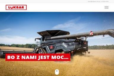 LUKBAR Sp z o.o - Maszyny rolnicze Wróblew