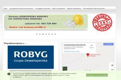 M - NIERUCHOMOŚCI - Nadzór Budowlany Maszewo Lęborskie