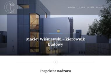 Inżynieria Budowlana Maciej Wiśniewski - Kierownicy Budowy Kamińsko