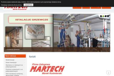 Firma Usługowa MARTECH - Instalacje grzewcze Wołczkowo