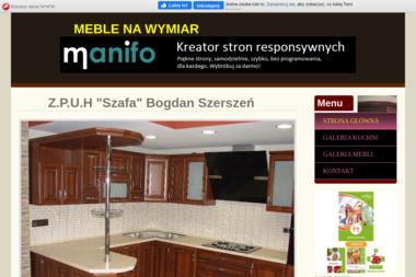 """Z.P.U.H """"""""Szafa"""""""" Bogdan Szerszeń - Meble na wymiar Dębica"""