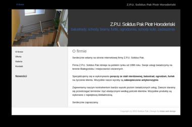 Z.P.U. Solidus Pak - Ogrodzenia Kute Białystok