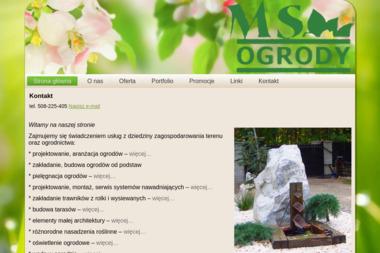 MS Ogrody - Projektowanie ogrodów Łódź