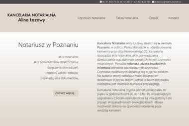 KANCELARIA NOTARIALNA Alina Łazowy - Notariusz Poznań