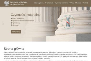 KANCELARIA NOTARIALNA - Notariusz Warszawa