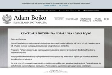 Kancelaria Notarialna Adam Bojko - Notariusz Opole