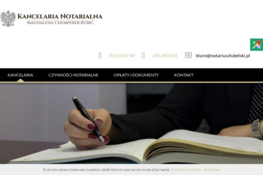 Notariusz Magdalena Chemperek- Kubić - Notariusz Lublin