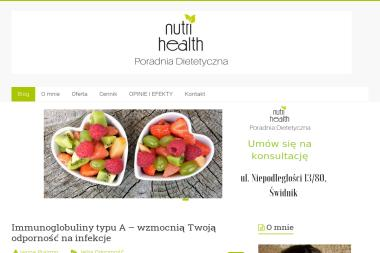 Poradnia Dietetyczna NUTRI HEALTH - Dietetyk Świdnik