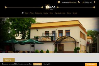 """Firma Hotelarsko-Gastronomiczna """"Oaza Bis"""" Sebastian Biestek - Gastronomia Wąbrzeźno"""