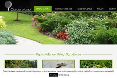 Ogrody Marka - Projektowanie ogrodów Białystok