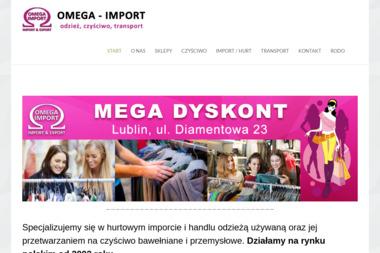 OMEGA-IMPORT - Odzież używana Lublin