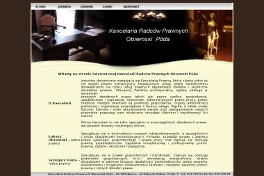 OBREMSKI PÓDA Kancelaria Radców Prawnych  Spółka Partnerska - Radca prawny Gliwice