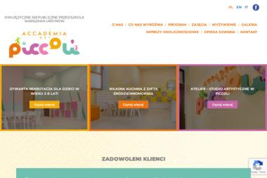 Przedszkole Accademia Dei Piccoli - Przedszkole Warszawa
