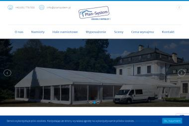 Plan-System - Wypożyczalnia Namiotów Imprezowych Zamość