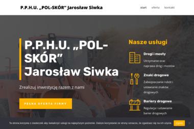 """P.P.H.U """"POL-SKÓR"""" Jarosław Siwka - Odbiór Gruzu Gniezno"""
