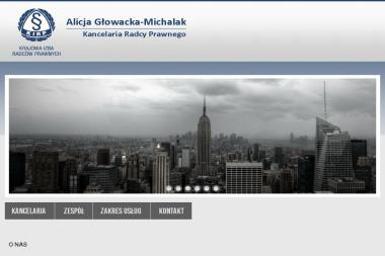 Kancelaria Radcy Prawnego Alicja Głowacka-Michalak - Radca prawny Siedlce