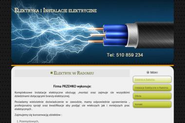 PRZEMKO - Elektryk Radom - Instalacje Elektryczne - Oświetlenie Schodów Wielogóra