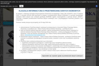 Radca Prawny Aldona Olszewska - Usługi Prawne Suwałki