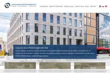 Kancelaria Radców Prawnych  Gołąb Okoniewski Ciesielski - Radca prawny Lublin
