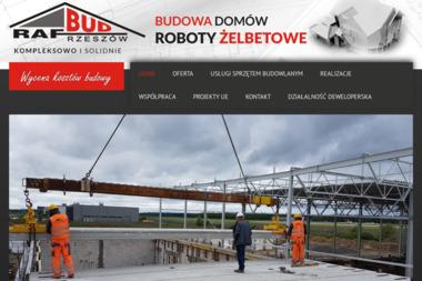 Zak艂ad Remontowo-Budowlany RAF-BUD - Fundamenty Rzeszów