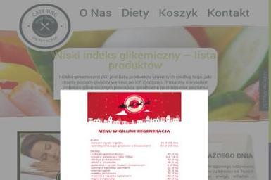 Regeneracja Catering Dietetyczny - Catering świąteczny Elbląg