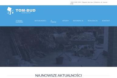 TOM-BUD Construction - Fundament Gliwice