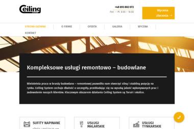 Ceiling System - Tapetowanie Toruń