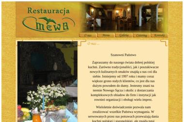Restauracja Mewa - Catering Dla Firm Nowy Sącz