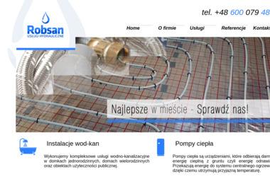 Robsan - Usługi Hydrauliczno Instalacyjne - Hydraulik Olsztyn