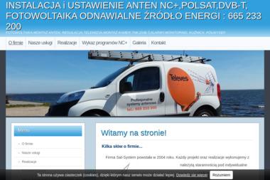 SAT- SYSTEM Piotr Kawlewski - Montaż Anteny Gdynia