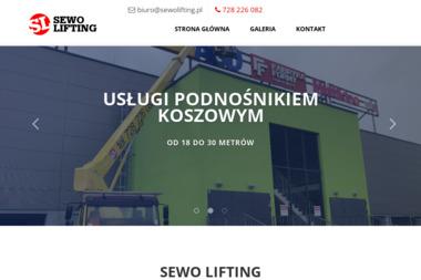 SEwo lifting - Maszyny Budowlane Jaworzno