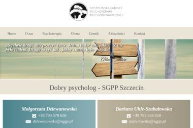 Szczeciński Gabinet Psychoterapii Psychodynamicznej - Psycholog Szczecin